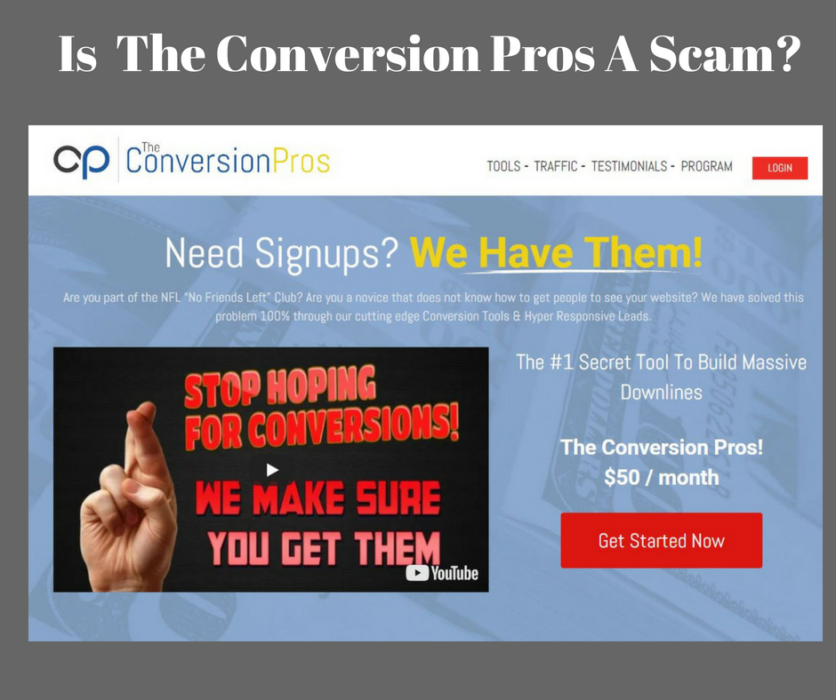 Is Conversion Pros A Scam