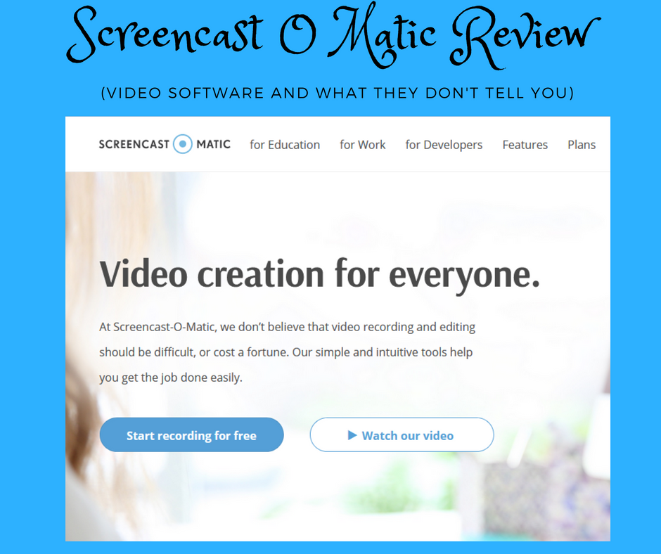 Screencast o matic review