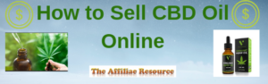 How to Sell CBD Oil Online