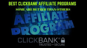 best clickbank affiliate programs