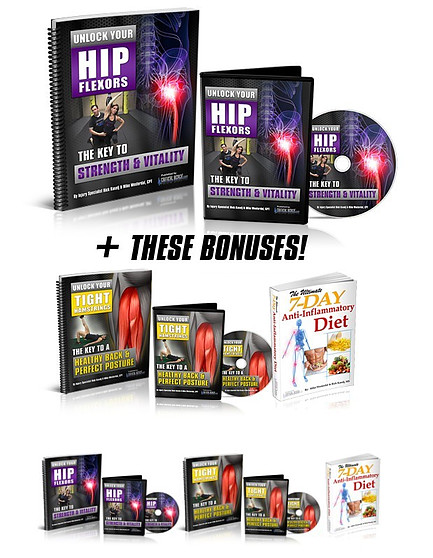Unlock your hip flexors and bonuses for the best clickbank affiliate programs