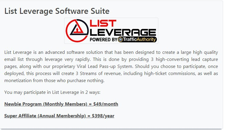 List Leverage Review