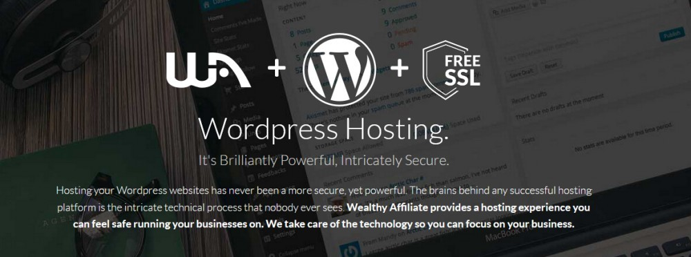 Best WordPress Hosting For 2020 - Wealthy Affiliate Banner