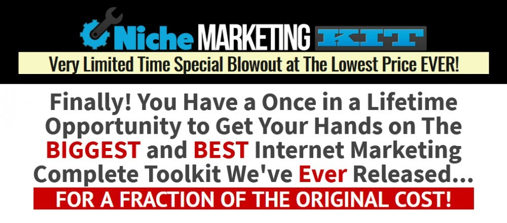 The Niche Marketing Kit Review