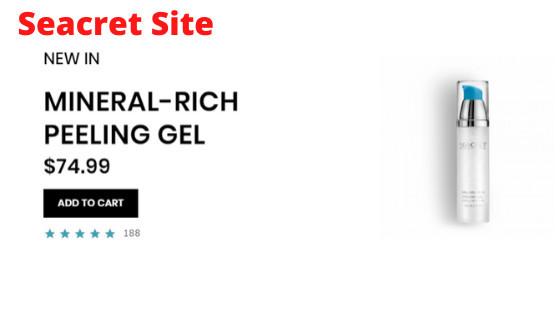 What is Seacret Direct - Mineral Rich Peeling Gel - Seacret site