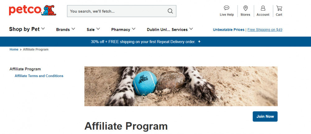 Affiliate Programs For Pet Products - Petco