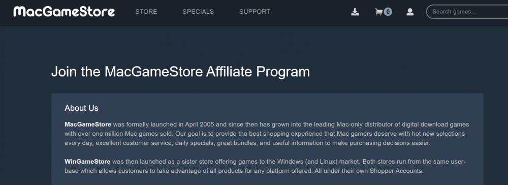 Gaming Affiliate Programs_MacGameStore