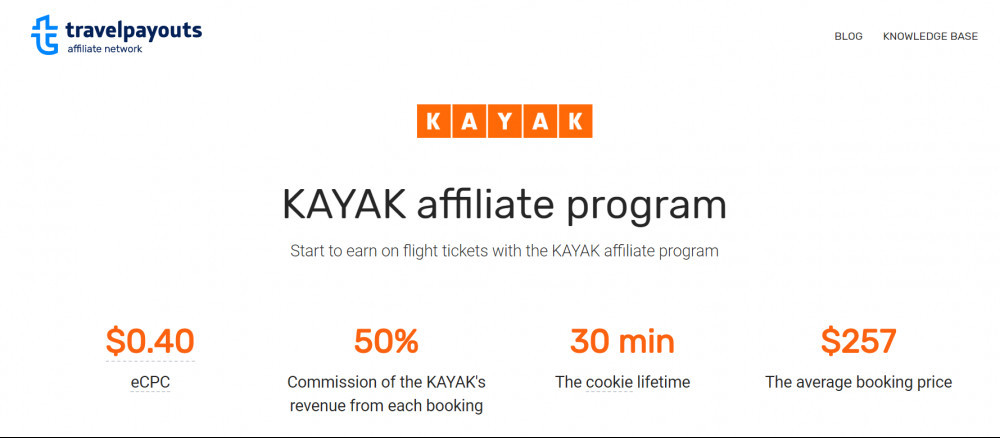 Travel Agent Affiliate Program_Kayak