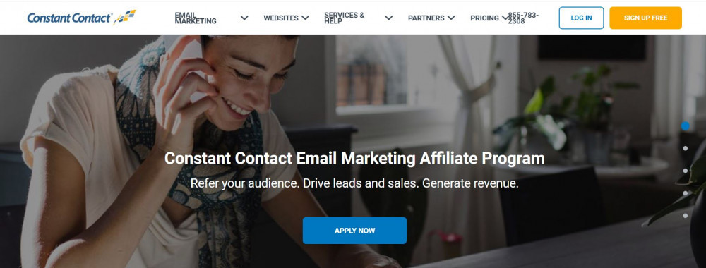 Pay Per Lead Affiliate Programs_Constant Contact