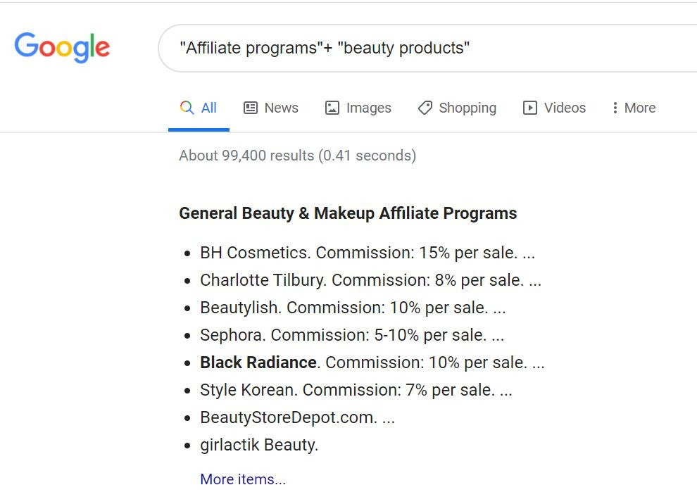 How To Sell Beauty Products Online_search