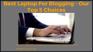 Best Laptop For Blogging