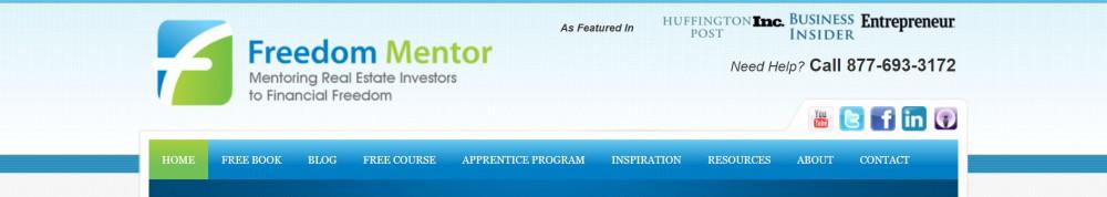 Freedom Mentor Review - Website