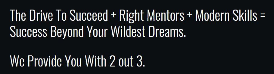 Modern Millionaires Review - slogan