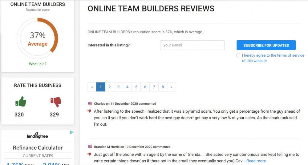 Online Team Builder Reviews - more reviews