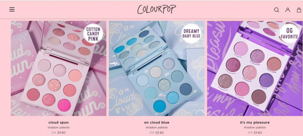 Colourpop Affiliate Program - Products
